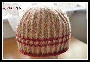 Lolly-stripes Hat by amarilliss
