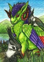 31. ACEO - Nachi by Tir-Goldeness