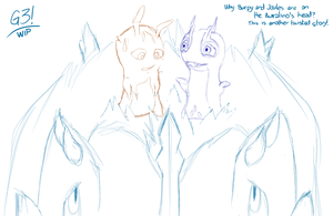 Twisted story - Slugterra WIP by G3Drakoheart-Arts