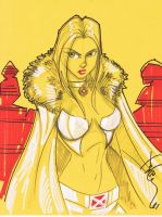Emma Frost aka White Queen by Hodges-Art