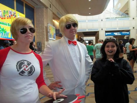 Comic Con 2014 - Sweet Alpha Dave and Karkles~ by TrixyMuffin1399
