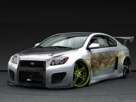"""ScionTC """"Skull Drager"""" WIP by Qubsik"""