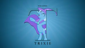 Wallpaper : Letters - Trixie by pims1978