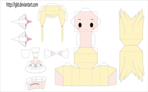 Chii Papercraft by LGKT