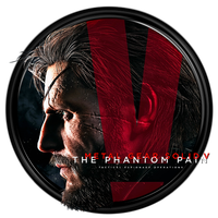 Metal Gear Solid V The Phantom Pain Dock Icon by OutlawNinja