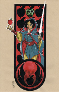 Zno Whyt (Snow White) by Hodges-Art