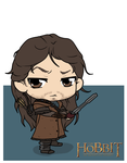 The Hobbit - Kili by Mibu-no-ookami