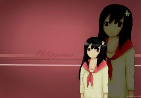 LC's Wallpapers - Hetalia OC - Philippines by Lunaticharmed