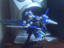 gundam 00 raiser 7 swords g 1/144 by bloodblader
