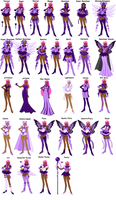 Sailor Amethyst stages by yukieternity