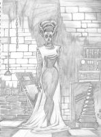 Bride of Frankenstein by Theamat