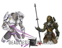 Deadliest Warrior - Coloured by gigglesalot