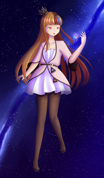 Queen of the stars by SxLizzy
