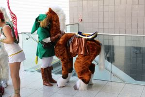 Grooming Epona by Koiice