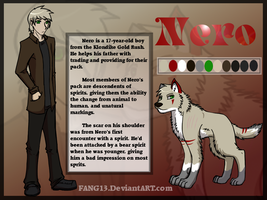 Nero comic ref by Ocrienna
