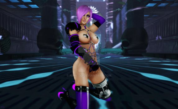 Naughty Bot by nimil-3d