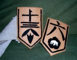 Bleach Badges by LycanLover