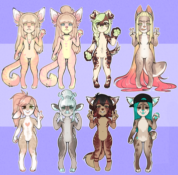 chibi auction adopt batch +OPEN+ by kissIand
