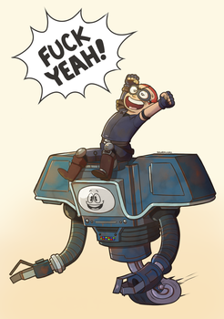 FNV: Yes, Yes Man, YES! by SugarKills