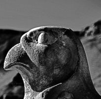 God Horus by WhiteBook