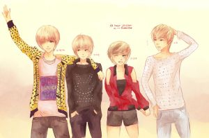 Kpop: Lee Blondes by Fiveonthe