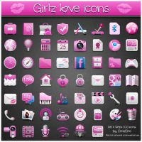 Girlz love Icons ICO by CrazEriC