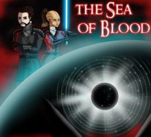 Sea Of Blood poster by IndigoWolfe