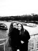 Two sisters in Paris by i-love-chi