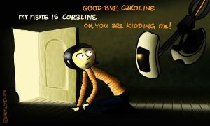 Outtakes VIII GLaDOS Coraline by lia-a-eastwood