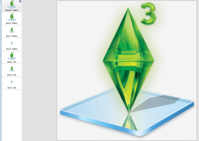 Sims3 windows 7 library by Nicola16