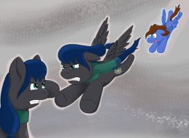 Flusky and the Banshee by Hazzdawg