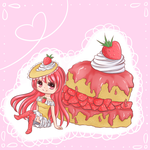 Strawberry Shortcake by Khryas