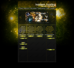 Holdem Hosting Website Design Preview by Eggtastic
