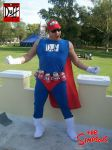 cosplay duffman by hagendraug