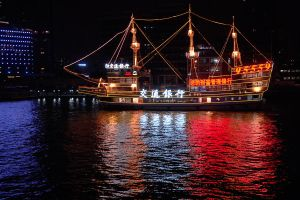 Shanghai ship 1 by wildplaces