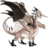 Flight Rising Skin- Blacktip Reef Ridgeback Male by NegativeDiamond
