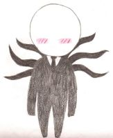 Slenderman Chibi by Lightnin2011