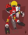 E-102 Goddammit by ShockRabbit