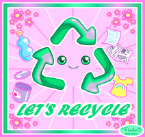 Let's Recycle by Princess-Peachie
