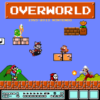 Overworld - Album Cover by TheFreeze812