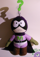 Mysterion Plush by FuzzyAliens