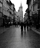 Florianska St, Krakow by TonyPringle
