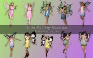 Faeries Pack 4 by joannastar-stock