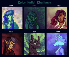 Color Pallet Challenge by Wazaga