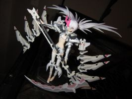 white rock shooter figure by Blue-Strawberryy