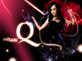 Maggie Q by theArLeQuIn
