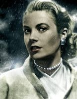 Grace Kelly by Ficklestix