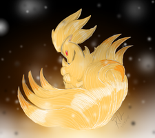 Ninetails by ShadowReaper12