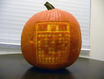 Minesweeper Pumpkin 2 by ceemdee