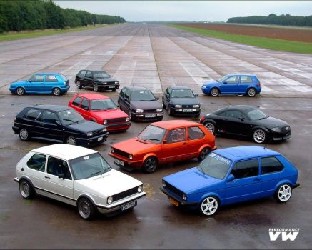 20 years of the gti by puddlz